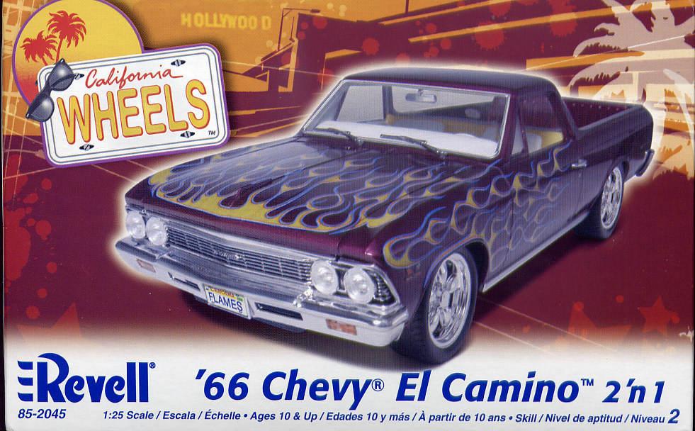El'Caminando, despacio, despues de 1966 ... (sauce resto-mod.) Revell-85-2045