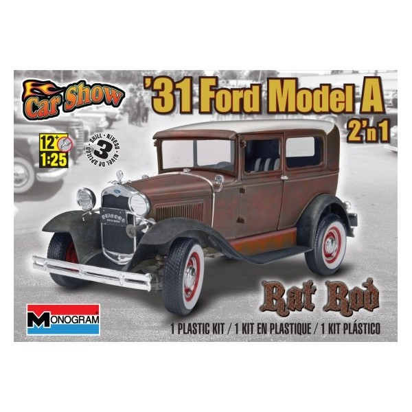 CCS Custom Shop Maquette-ford-model-a-rat-rod-1931